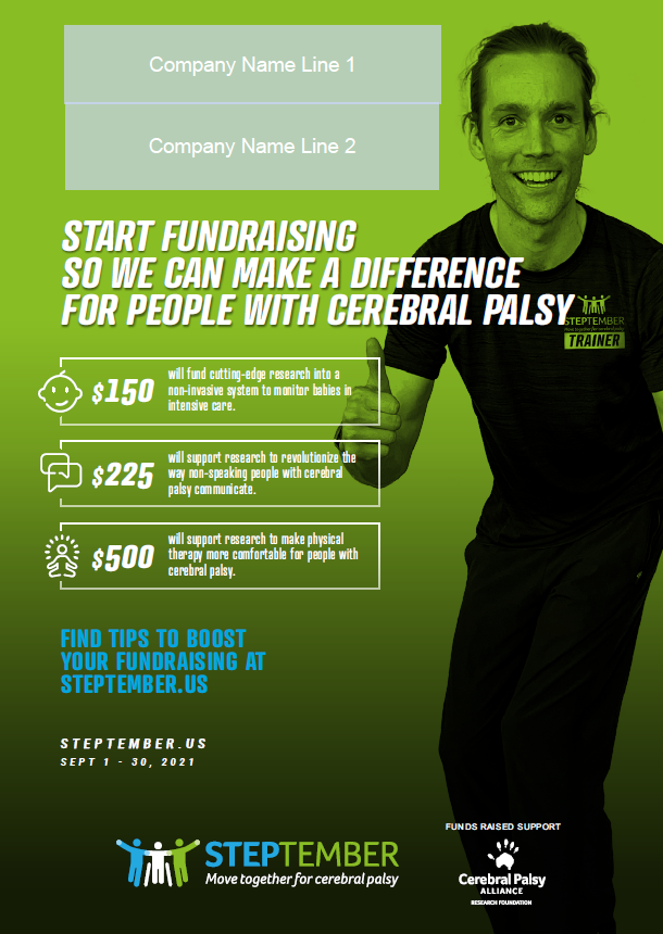Fundraising Will Make A Difference Poster