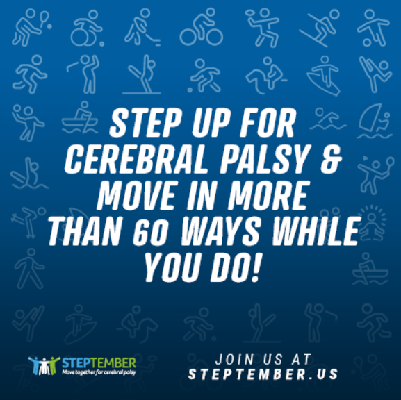 Join STEPtember - 60 ways to move