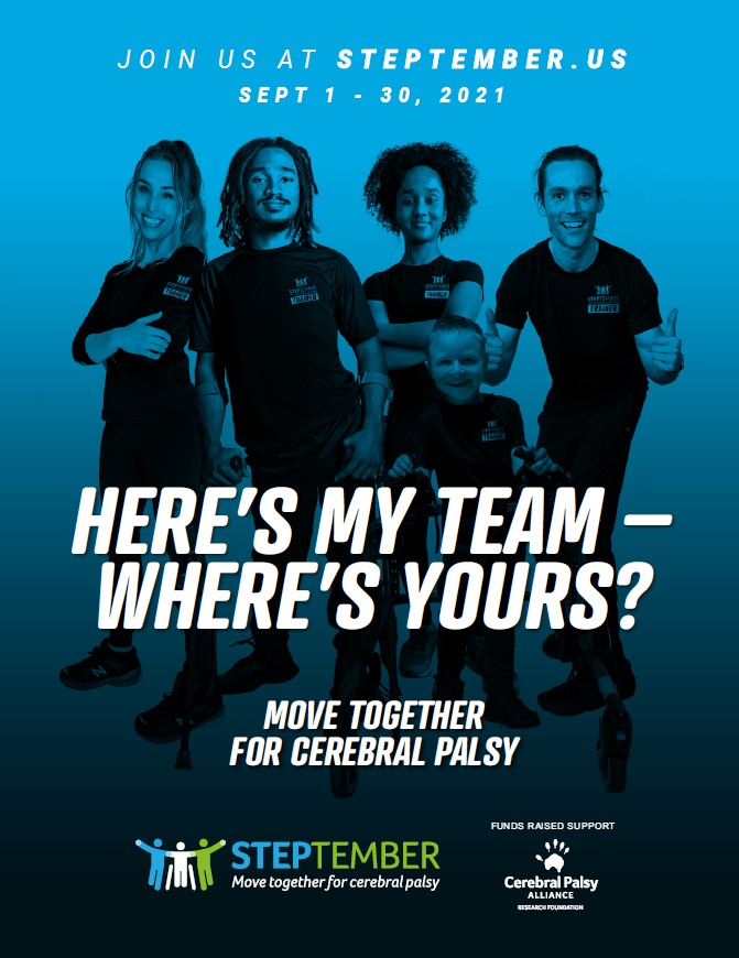 Here's My Team Poster