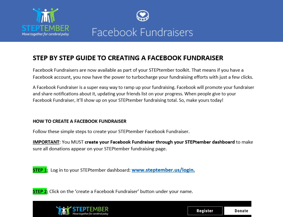 Create a Facebook Fundraiser - step by step guide