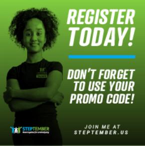 Register Today - Promo code