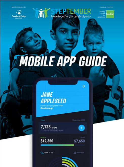 STEPtember App user guide